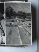 Asia India Photocard Nice Field With Fountains  By Badyari And Co Dalgate Srinagar - India