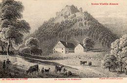 68 Haut-Rhin  Hohnack Château, Série Notre Vieille Alsace N 11359 - Zonder Classificatie