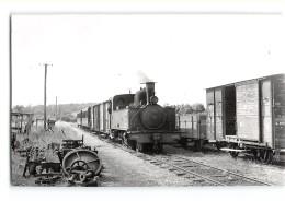 Photo M.Rifault Format Cpa Saint Valery Une Machine Ligne De Noyelles Cayeux - Saint Valery Sur Somme