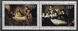 1970 CAMEROUN PA 169-70  ** Tableaux, Rembrandt - Kamerun (1960-...)