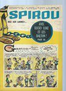SPIROU  N° 1346  -  Déssin: FRANQUIN   -  1964  ( Avec Le Mini Récit : LE TRONE DE TOUT-ANKH-ARTON ) - Spirou Magazine