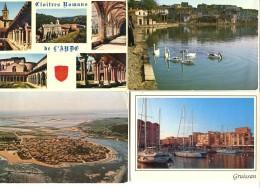 11 - Aude : Lot De 50 CPM - Cartes Postales