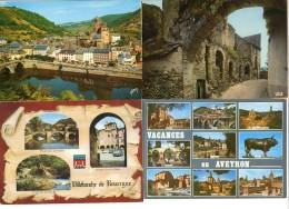 12 - Aveyron : Lot De 50 CPM - Cartoline