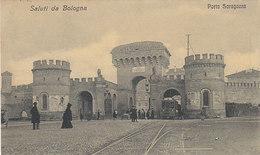 Saluti Da Bologna - Porta Saragozza Con Tram - 1908       (A-46-120607) - Tramways