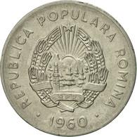 Roumanie, 25 Bani, 1960, TTB+, Nickel Clad Steel, KM:88 - Roumanie