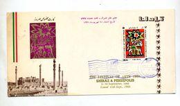 Carte Fdc 1968  Festival Art - Irán