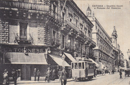 Catania - Quatro Canti - Tram        (A-46-120607) - Strassenbahnen