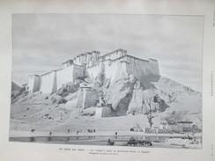 TIBET  Le Dernier Voyage  De L Explorateur   Suédois  SVEN HEDIN  Le DZONG Palais  CHIGATSE Chine China Tachi Lama - Tibet