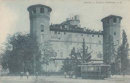 Torino - Palazzo Madama Con Tram -1906       (A-46-120607) - Strassenbahnen