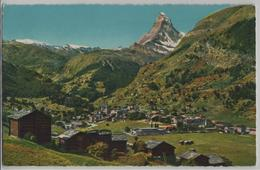 Zermatt (1609 M) Mit Matterhorn - Photo: Otto Furter No. F7 - VS Valais