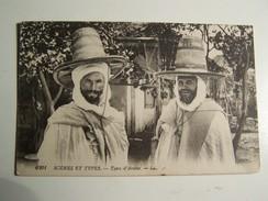 T36  MAROC  Scene  Et Types Types D Arabes 1918 - Autres