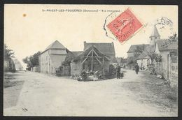 ST PRIEST LES FOUGERES Rare Vue Principale (J.J) Dordogne (24) - Autres Communes