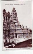 75. PARIS . EXPOSITION COLONIALE INTERNATIONALE . PARIS 1931 . INDO CHINE TEMPLE D'ANGKOR - Expositions