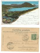 Suisse // Schweiz // Switzerland //  Tessin   //  Saluto Da Lugano (belle Carte Litho) - TI Tessin