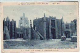 75. PARIS . EXPOSITION COLONIALE INTERNATIONALE . PARIS 1931 . L'ENSEMBLE DE LA SECTION A.O.F. VILLAGE INDIGENE - Expositions