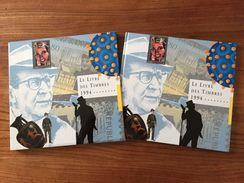Le Livre Des Timbres France 1994, Timbres Du Programme Philatélique - 1990-1999