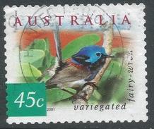 Australia. 2001 Flora And Fauna (4th Series). 45c (Sheet) Used SG 2126 - 2000-09 Elizabeth II