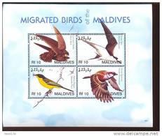 MALDIVES     2904  MINT NEVER HINGED MINI SHEET OF BIRDS   #   M-640-1  ( - Non Classés