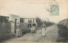 Montreuil : Les Peches Retour De Cueillette - Montreuil