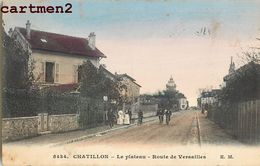 CHATILLON PLATEAU ROUTE DE VERSAILLES 92 - Châtillon