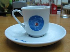 AC - TURKEY HABER IS TRADE UNION PORCELAIN COFFEE CUP - MUG & SAUCER FROM TURKEY - Cups