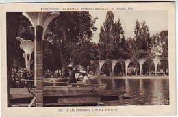 75. PARIS . EXPOSITION COLONIALE INTERNATIONALE . PARIS 1931 . LE LAC DAUMESNIL . ENTREE DES ILES - Expositions