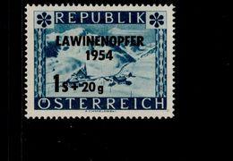 Österreich 998 Lawinenunglück MNH Postfrisch ** - 1945-.... 2ème République