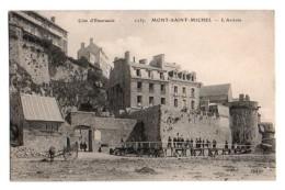 (50) 594, Le Mont Saint-Michel, ELD 1257, L'Arrivée - Le Mont Saint Michel