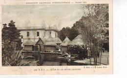 75. PARIS . EXPOSITION COLONIALE INTERNATIONALE . PARIS 1931 . A. O. F. . LE LAC ET LES HUTTES LACUSTRES - Expositions