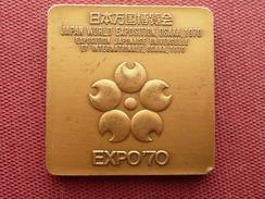 JAPON Médaille Exposition Universelle D'OSAKA - Otros