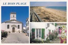 LE BOIS PLAGE. - Multivues. CPM RARE - France