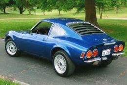 Opel GT - Auto's