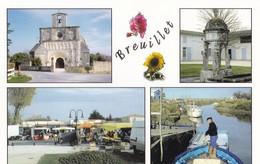 BREUILLET. - Multivues. CPM - France