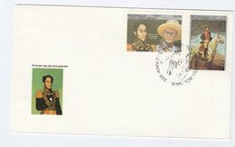 1983 NICARAGUA FDC Stamps BOLIVAR , HORSE, HAT  Cover - Nicaragua