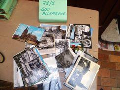 LOT     71/1 100 CARTES POSTALE  ALLEMAGNE - Ansichtskarten