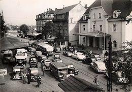 - Haut Rhin -gd Format-ref-V12- Saint Louis - St Louis - Frontiere Franco Suisse- Douane - Douanes - Voitures - Autocars - Saint Louis