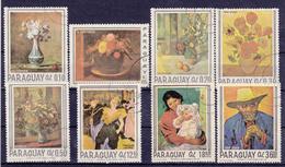 Paraguay - 1967 - Nrs. Mi; 1729.........1736 - Gestempeld/oblt. - ° - Paraguay