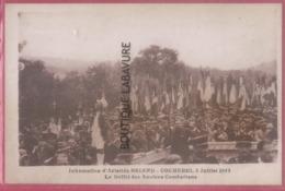 27 - COCHEREL--Inhumation D'Aristide Briand--3 Juillet 1952 Le Défilé Des Anciens Combattans---cpsm Pf - Francia