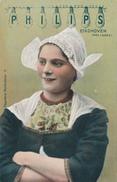 367/25 - LAMPES PHILIPS - HOLLANDE  - Carte Illustrée Paysanne Hollandaise No 8 - ETAT NEUF - Timbres
