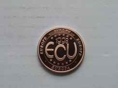 1998 ECU Europe ( 11.8 Gr. ) ( Details Zie Foto ) ! - Elongated Coins