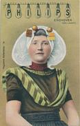 368/25 - LAMPES PHILIPS - HOLLANDE  - Carte Illustrée Paysanne Hollandaise No 10 - ETAT NEUF - Timbres