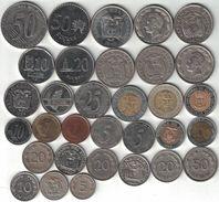 Ecuador Collection Of 32 Coins 1937-2003 All Listed & Different - Ecuador