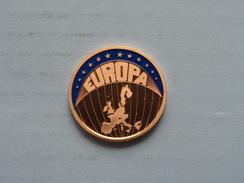 1999 ECU Europa ( Color 12.4 Gr. ) ( Details Zie Foto ) ! - Pièces écrasées (Elongated Coins)