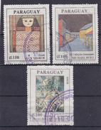 Paraguay - 1991- Nrs. Mi; 4558........4560 - Gestempeld/oblt. - ° - Paraguay