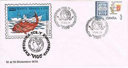 24804. Carta Exposicion VIGO (Pontevedra) 1979. Caminos Mar - 1931-Hoy: 2ª República - ... Juan Carlos I