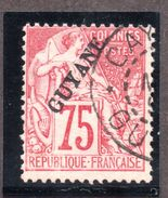 Guyane N°27 Oblitéré  TB Cote 150 Euros  !!! - Guyane Française (1886-1949)