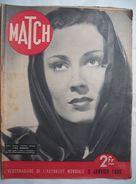 MATCH :1939 : TUNISIE .  CHEZ MAXIM'S . HITLER . CINEMA .  URSS .  ACTUALITES . Etc ... - Newspapers