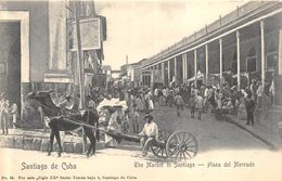 SANTIAGO DE CUBA PLAZA DEL MERCADO ANIMATION - Cuba