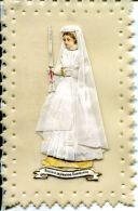 Carte Celluloïd -souvenir Première Communion- Collage Montage- - Images Religieuses