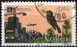 NORVEGIA - 1986 - EUROPA: PROTEZIONE DELLA NATURA - USATO - Norwegen